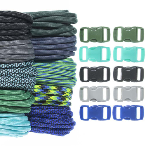 Chrysocolla - Combo Kit (Paracord & Buckles)