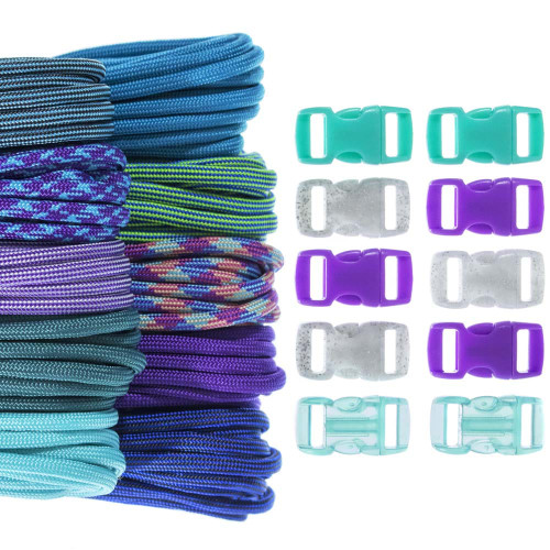 Fluorite - Combo Kit (Paracord & Buckles)