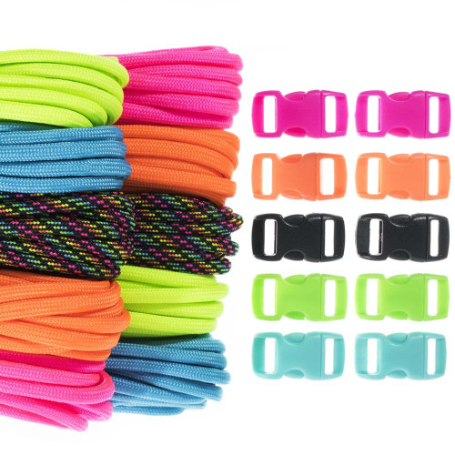 Rave - Combo Kit (Paracord & Buckles)