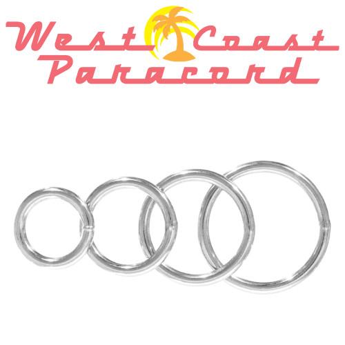 Welded Steel O Rings - Multiple Sizes