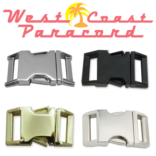 Metal 5/8 Inch Side Release Buckles