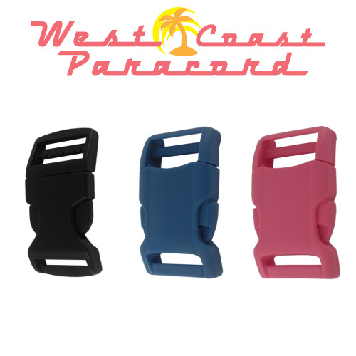 1 Inch Economy Contoured Side Release Buckles