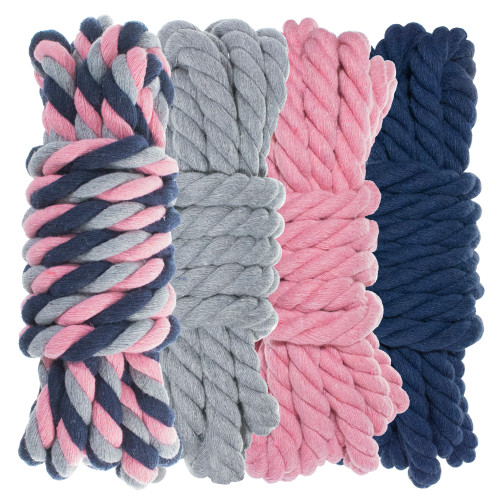 "1/4"" Twisted Cotton Rope Kit - Dusty"