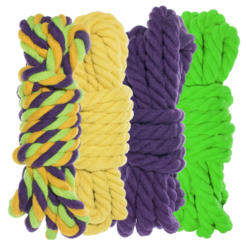 """1/4"""" Twisted Cotton Rope Kit - Tootie Fruity"""