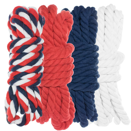"1/4"" Twisted Cotton Rope Kit - USA"
