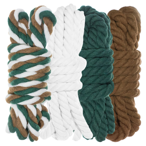 "1/4"" Twisted Cotton Rope Kit - Backwoods Camo - 40'"
