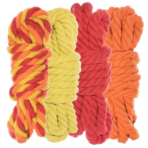 "1/4"" Twisted Cotton Rope Kit - Blazin' - 40'"