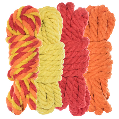 "1/4"" Twisted Cotton Rope Kit - Blazin' - 40'"