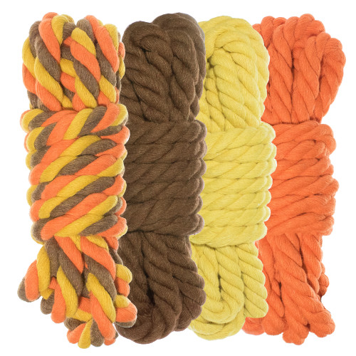 """1/4"""" Twisted Cotton Rope Kit - Fall  - 40'"""