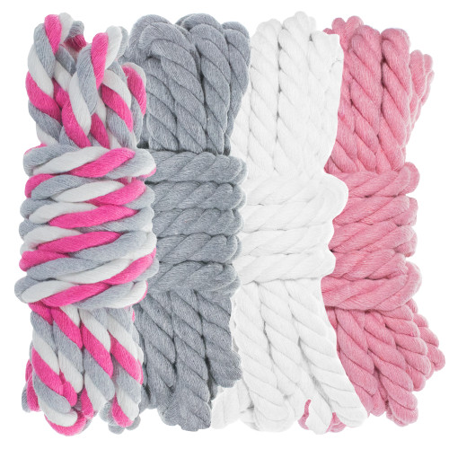 """1/4"""" Twisted Cotton Rope Kit - WGP - 40'"""