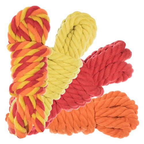 "1/2"" Twisted Cotton Rope 100' Kit - Blazin'"