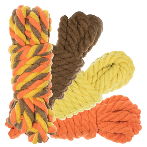 """1/2"""" Twisted Cotton Rope 100' Kit - Fall"""
