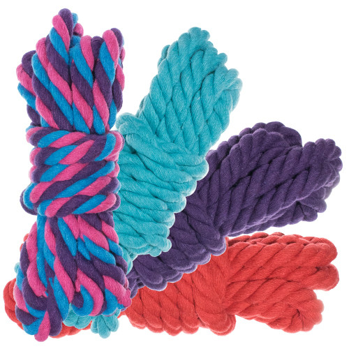 """1/2"""" Twisted Cotton Rope 100' Kit - Flora"""