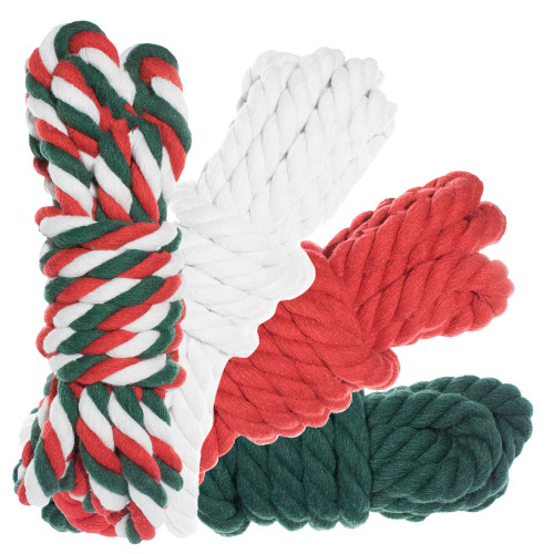 """1/2"""" Twisted Cotton Rope 100' Kit - Jolly"""
