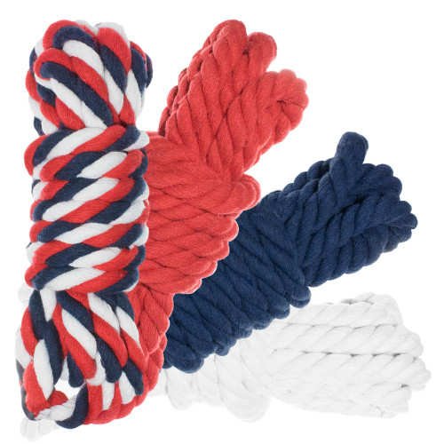 "1/2"" Twisted Cotton Rope 100' Kit - USA"