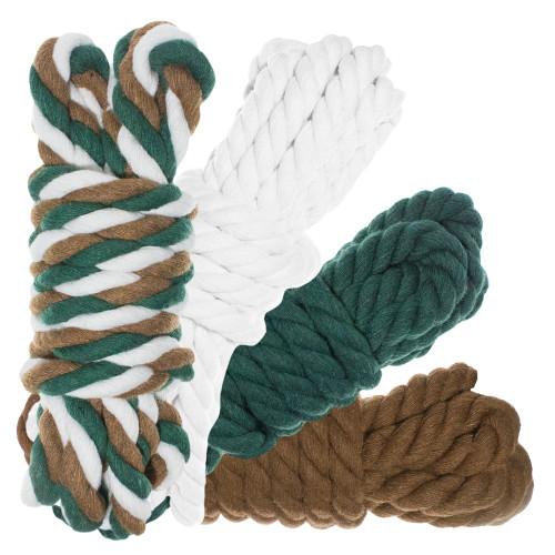 "1/2"" Twisted Cotton Rope 40' Kit - Backwoods Camo"