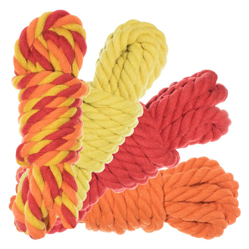 "1/2"" Twisted Cotton Rope 40' Kit - Blazin'"