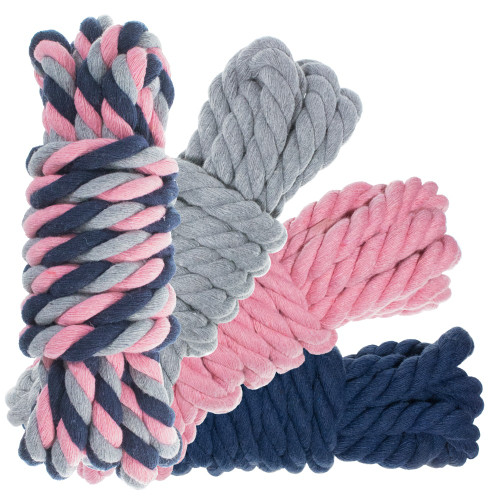 "1/2"" Twisted Cotton Rope 40' Kit - Dusty"