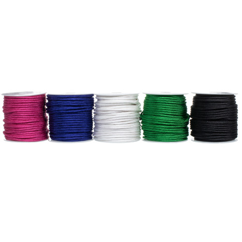 550 Polyester Paracord Box Set – 5 x 100 ft Spools  - Primary