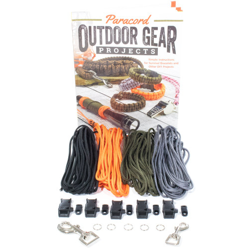 Paracord Project Outdoor Gear Book - Book and Crafting Kit
