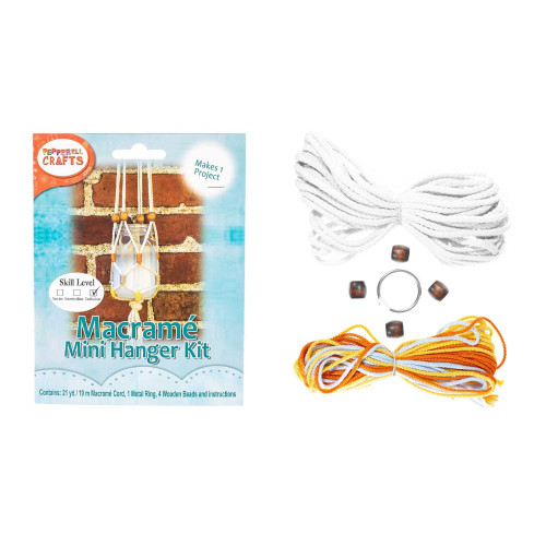 Macrame Hanging Jar Kit