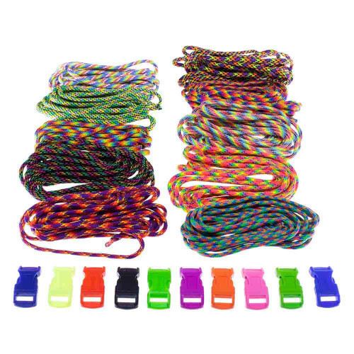 Pop of Color - Combo Kit (Paracord & Buckles)