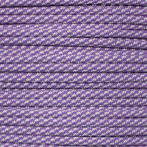 Lilac Candy Cane  - 550 Paracord - 100ft