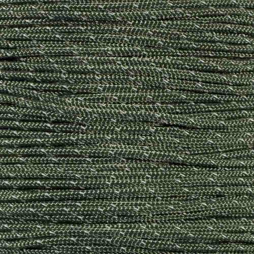Camo Green - Reflective 95 Paracord