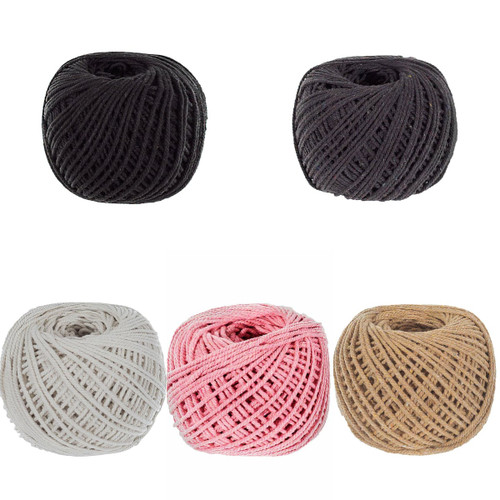 2mm Cotton Rope - Multiple Colors