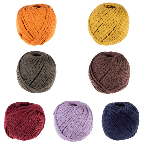 3mm Cotton Rope - Multiple Colors