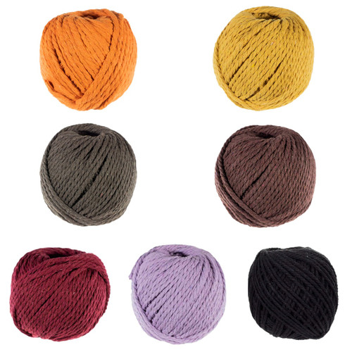 4mm Cotton Rope - Multiple Colors