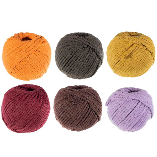5mm Cotton Rope - Multiple Colors