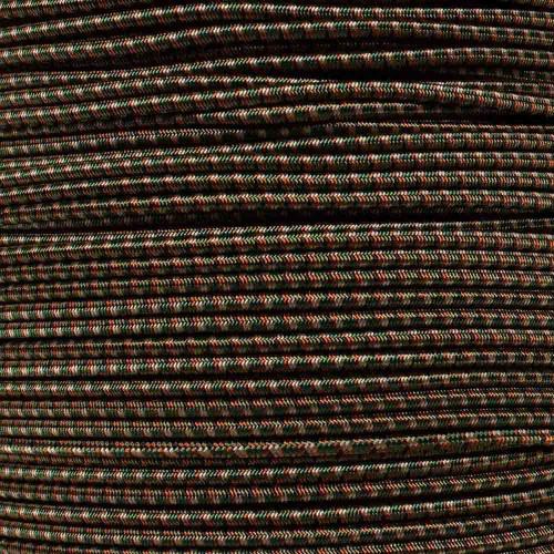 Woodland Camo - 1/8 inch Shock Cord