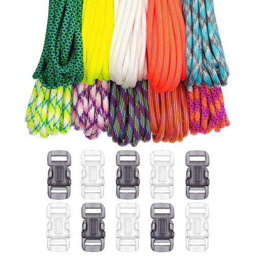 Paracord & Buckles Combo Kit - Festival Time