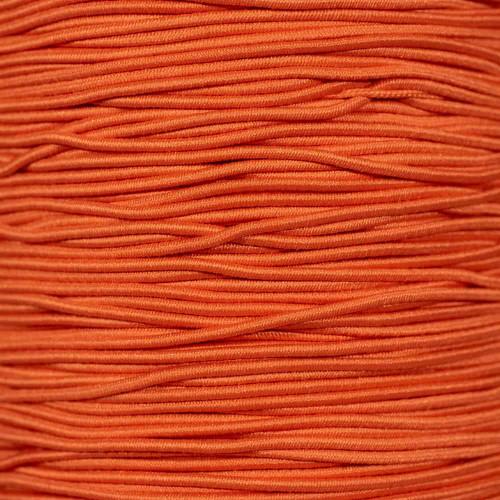 Orange - 1/16 inch Elastic Cord