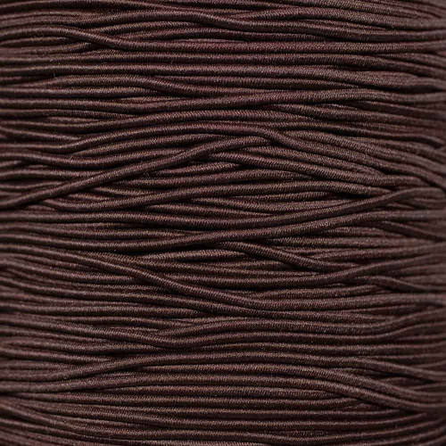 Brown - 1/16 inch Elastic Cord