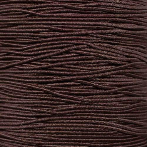 Brown - 1/16 inch Elastic Cord