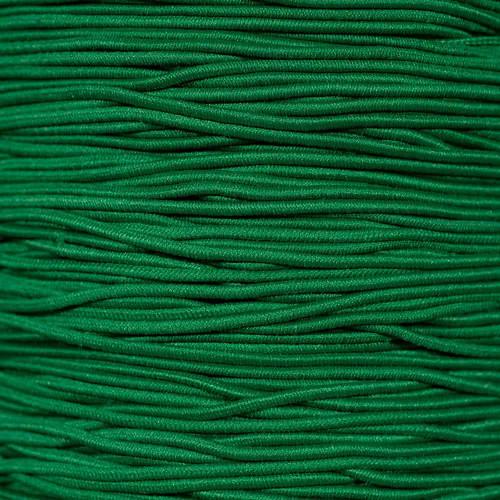 Green - 1/16 inch Elastic Cord