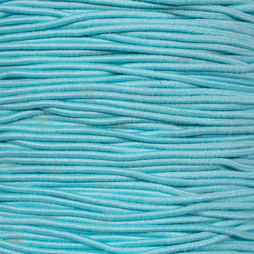 Light Blue - 1/16 inch Elastic Cord