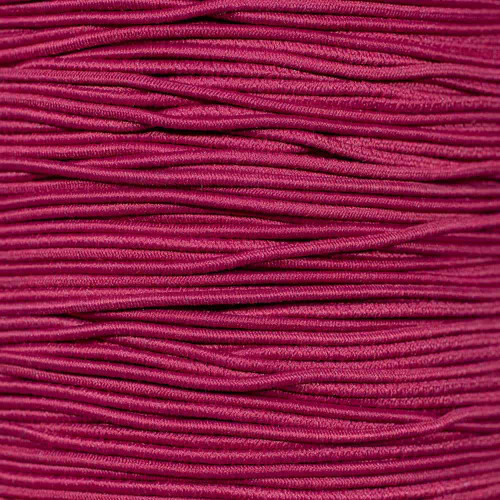 Pink - 1/16 inch Elastic Cord