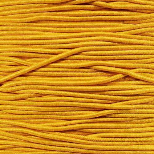 Yellow - 1/16 inch Elastic Cord