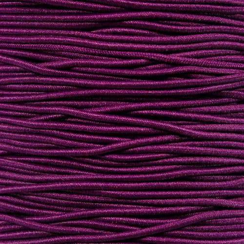 Neon Purple - 1/16 inch Elastic Cord