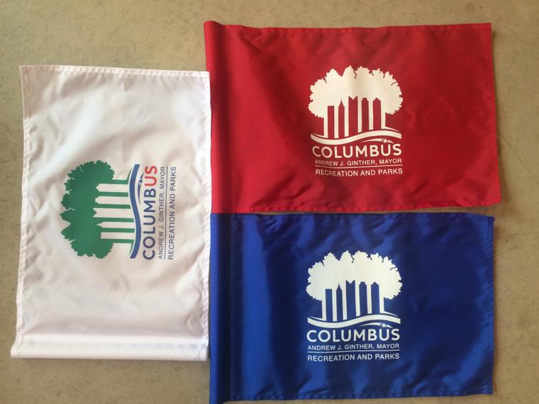 FLEX Printed Golf Flag