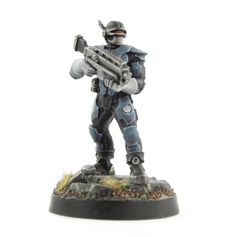 Sci-Fi Miniature Enforcers - Enforcer 4