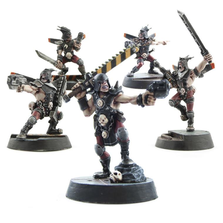 Sci-Fi Miniature Renegades - Full Set of 5 Renegades