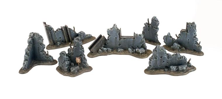 War Torn City Rubble Kit