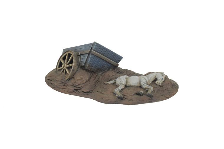 World at War Dead Horse and Cart