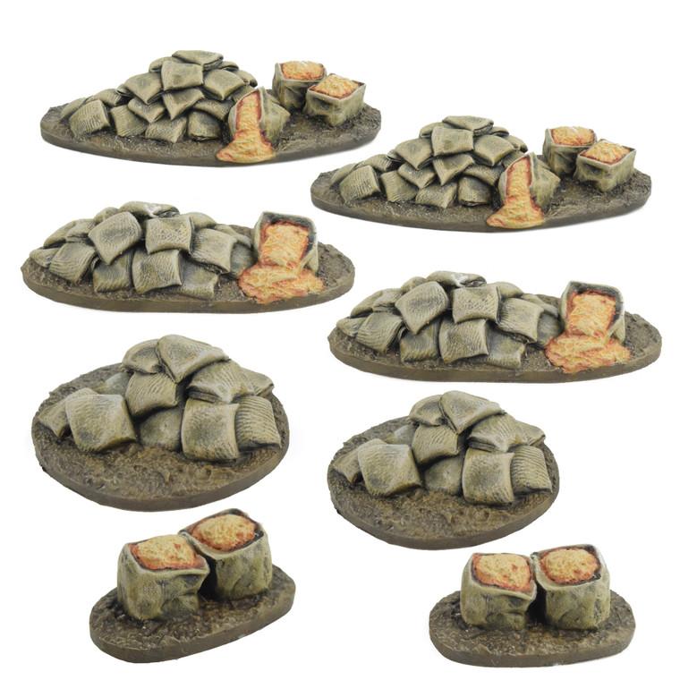 World at War Sandbag Scatter Terrain