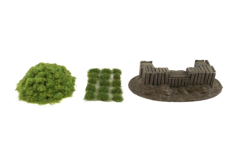 World at War Wooden Bunker Defensive Position & Scenery Kit
