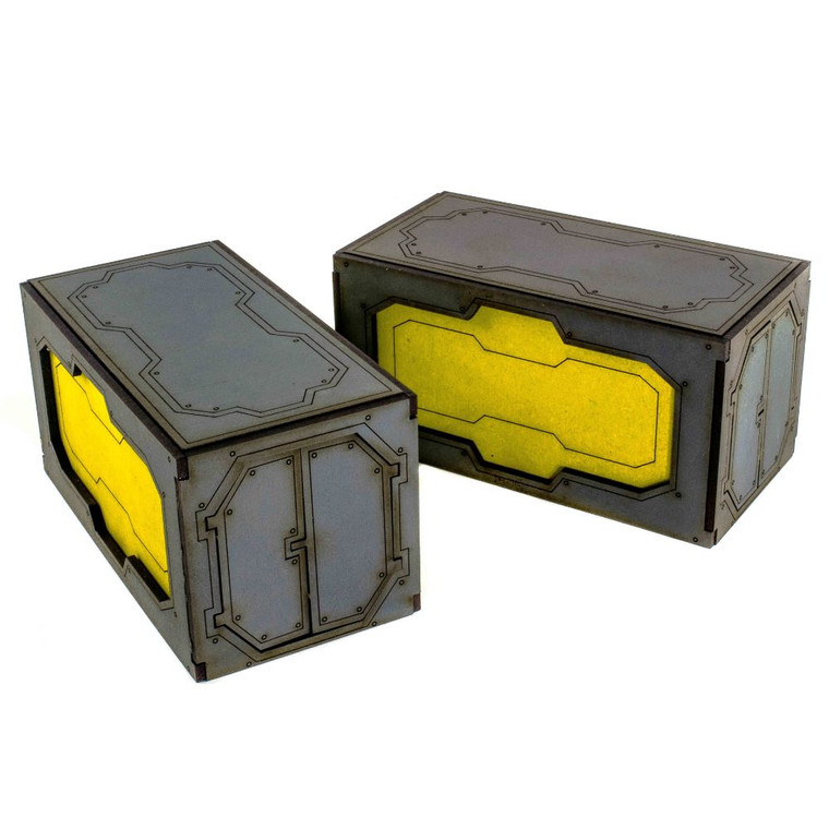 Industry of War Shipping Containers (Set of 2)